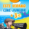 Cine Junior a 3€ en Cines Panoramis