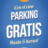 5 horas de parking gratuito en Cines Panoramis